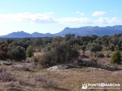 Senda Genaro - GR 300 - Embalse de El Atazar; senderismo en segovia